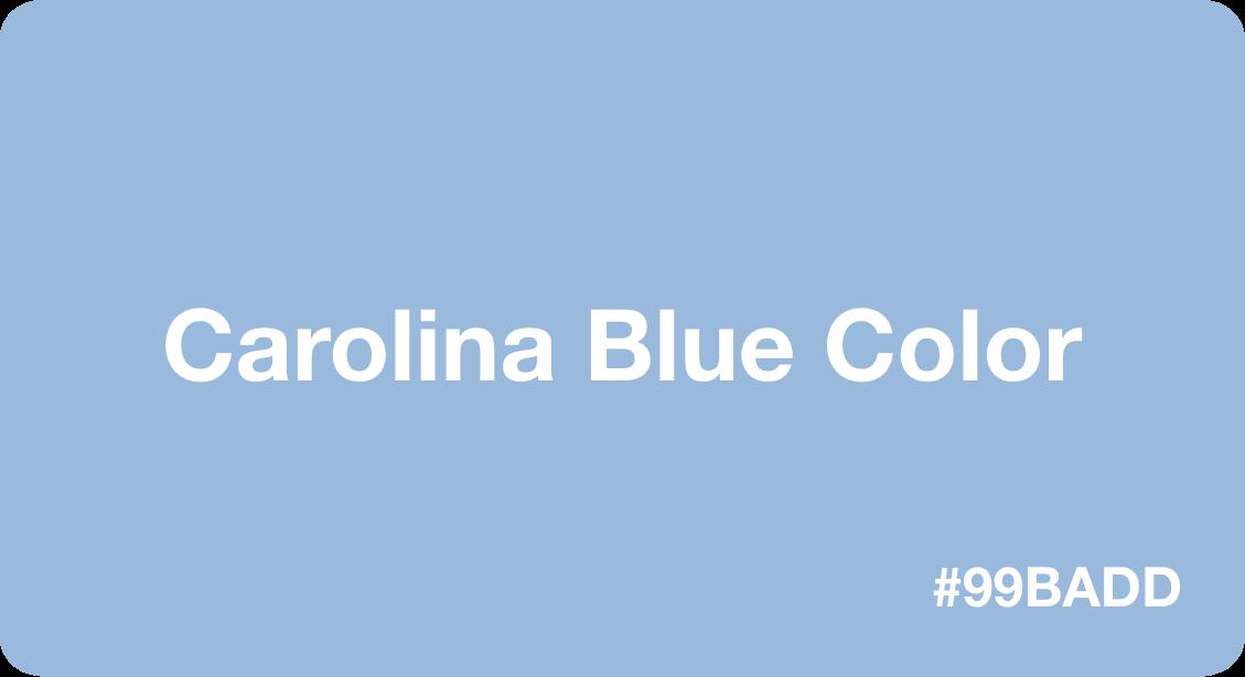 Caroline Blue Color