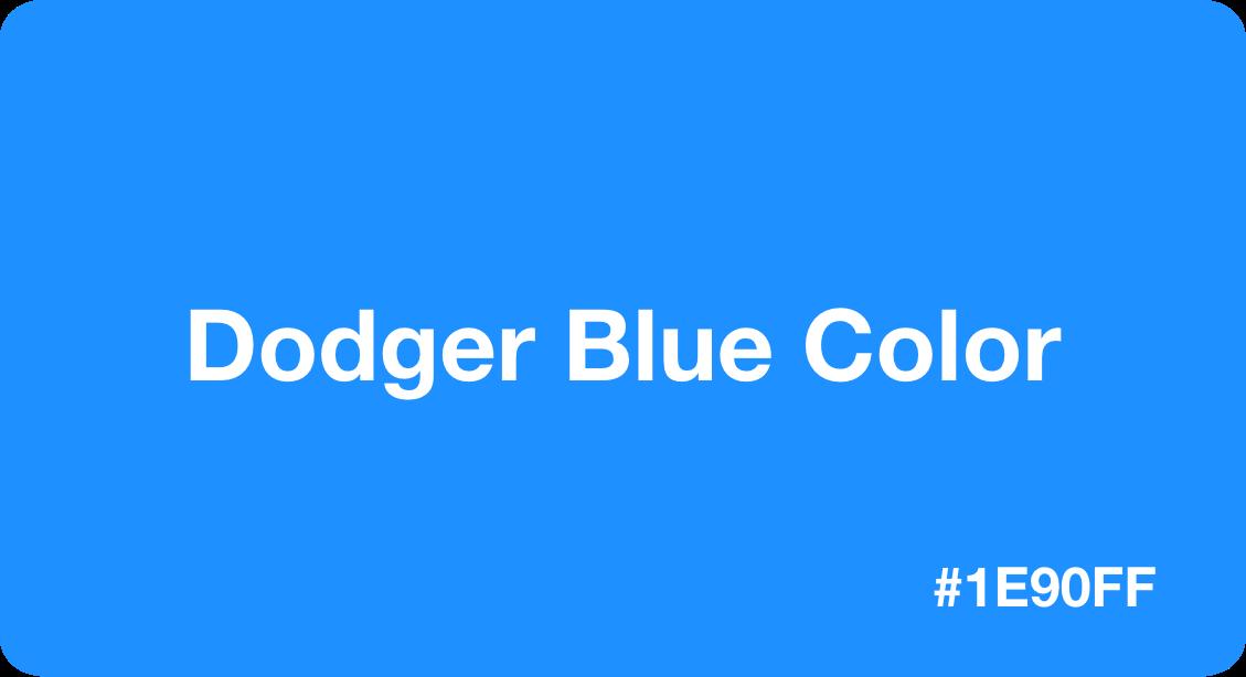 Dodger Blue Color