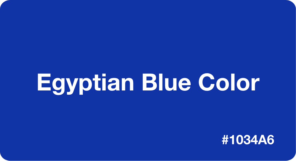 Egyptian Blue Color