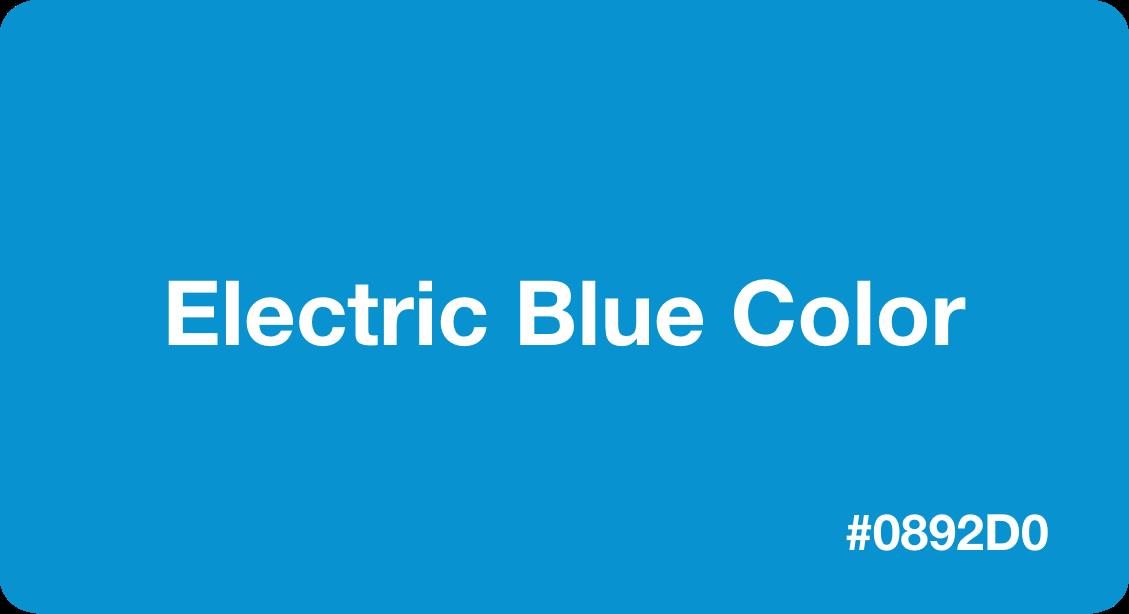 Electric Blue Color