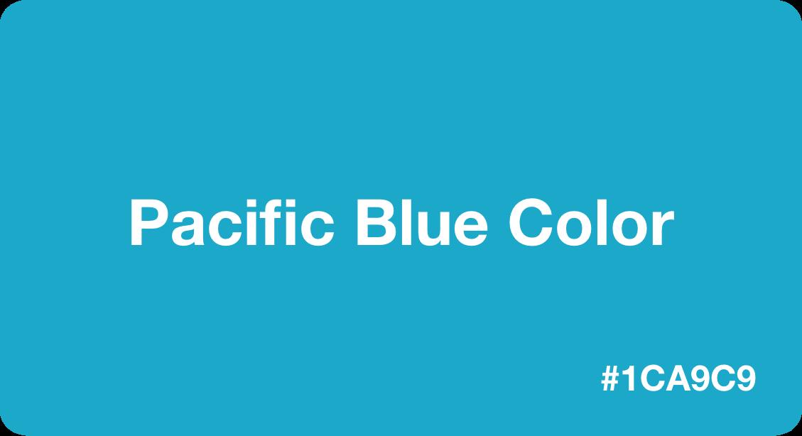 Pacific Blue Color