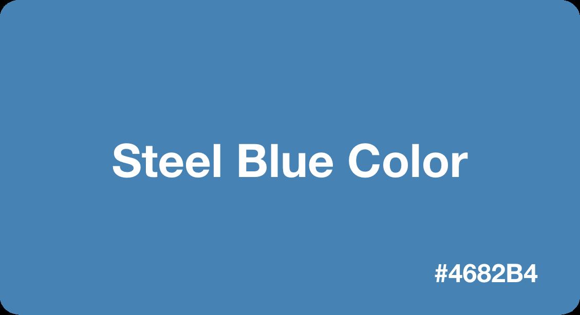 Steel Blue Color