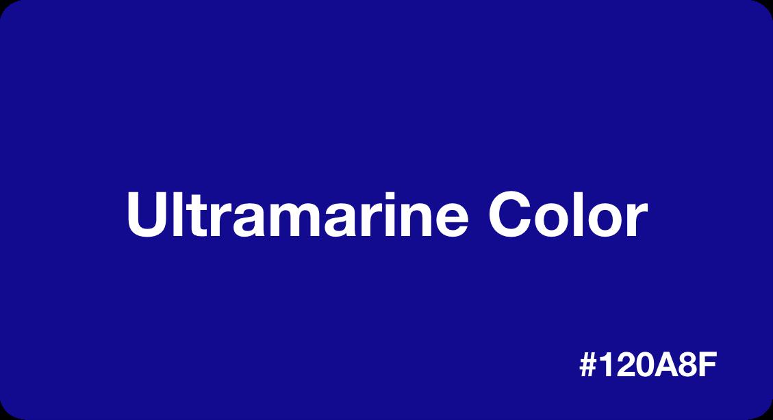 Ultramarine Color
