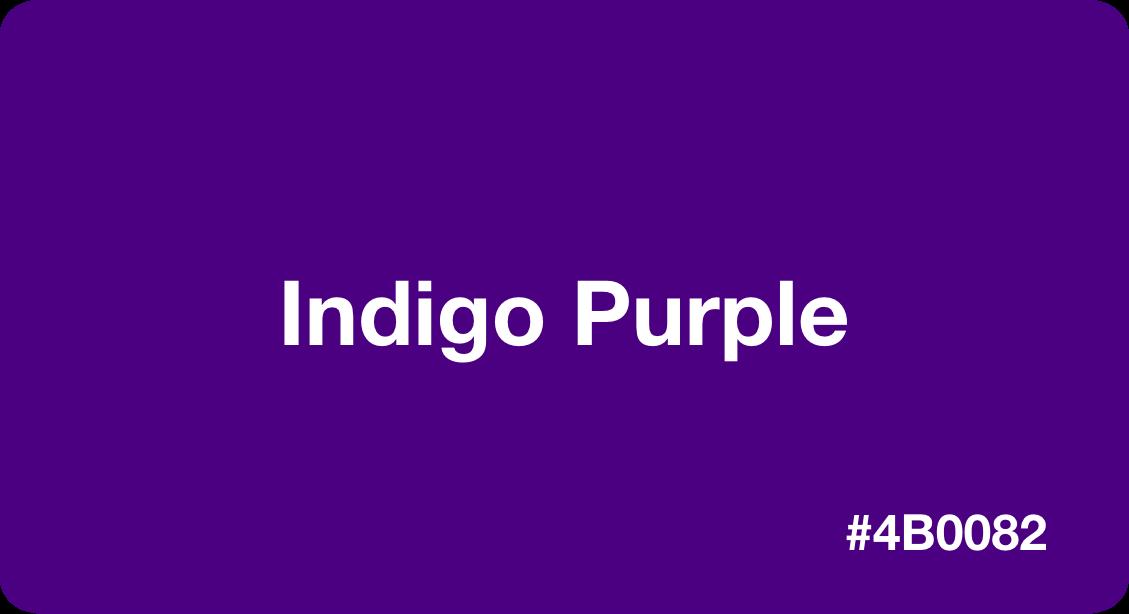 Indigo Purple