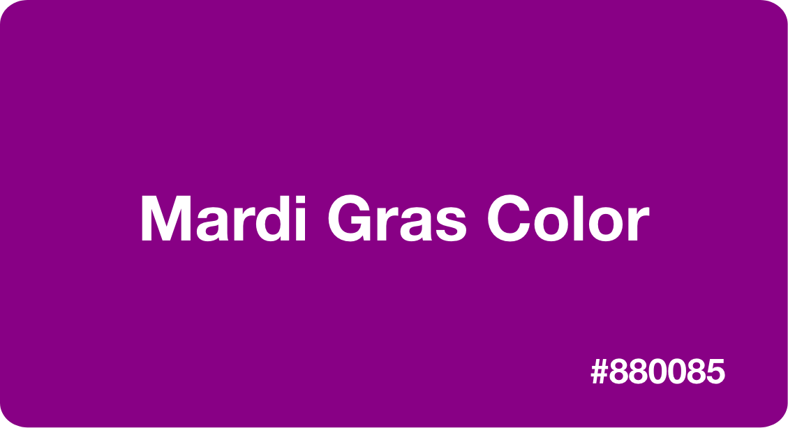 Mardi Gras Color