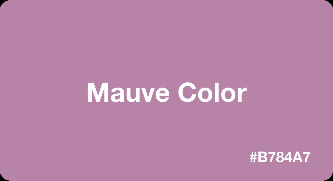 Mauve Color