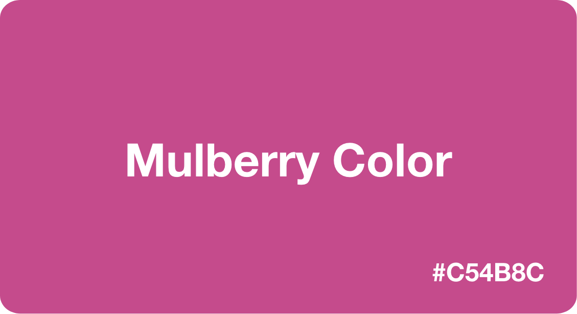 Mulberry Color