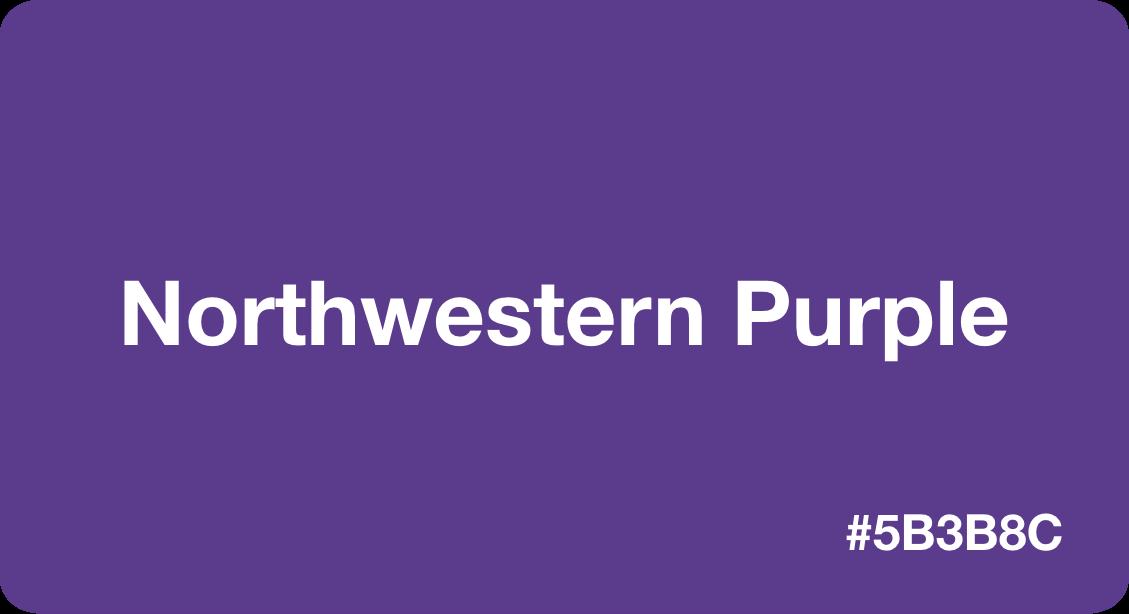Northwestern Purple
