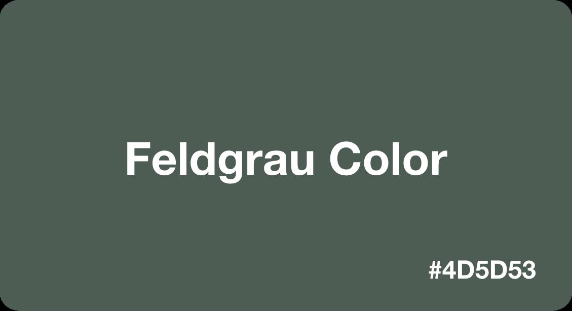 Feldgrau Color