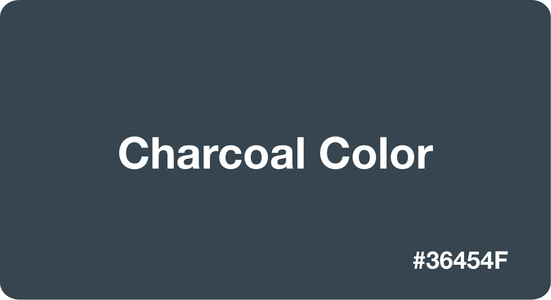 Charcoal Color