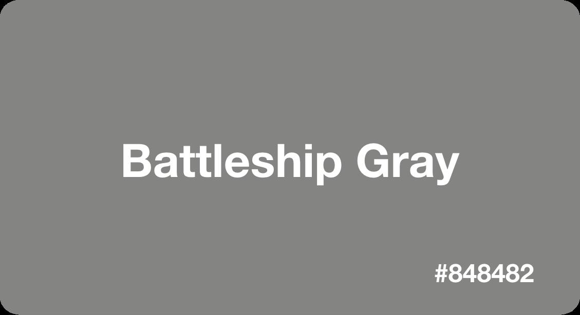 battleship gray