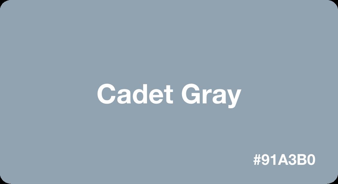 Cadet Gray