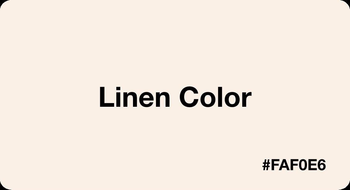 Linen Color