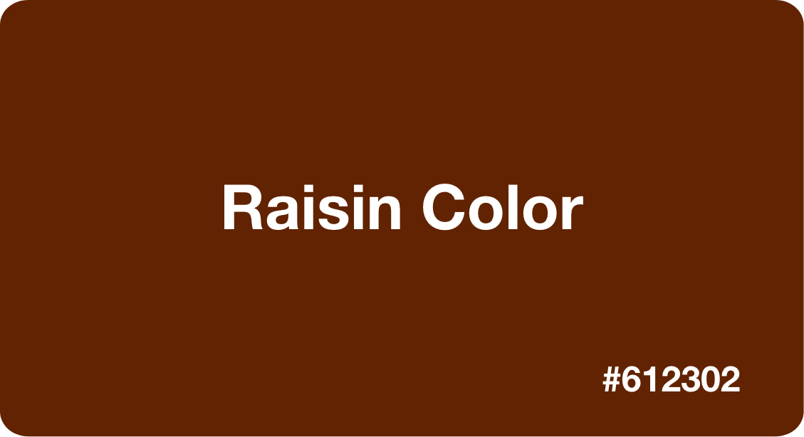 raisin color