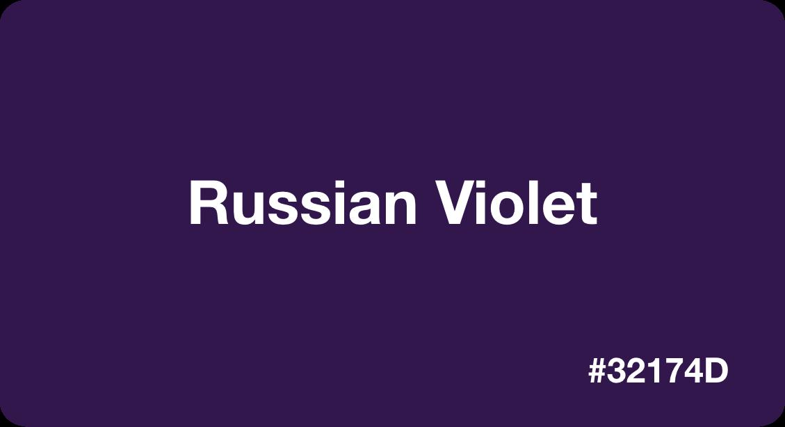 Russian Violet