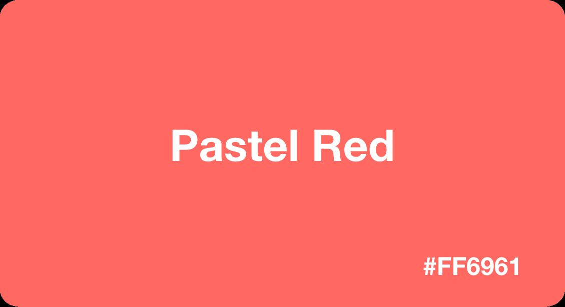 Pastel Red