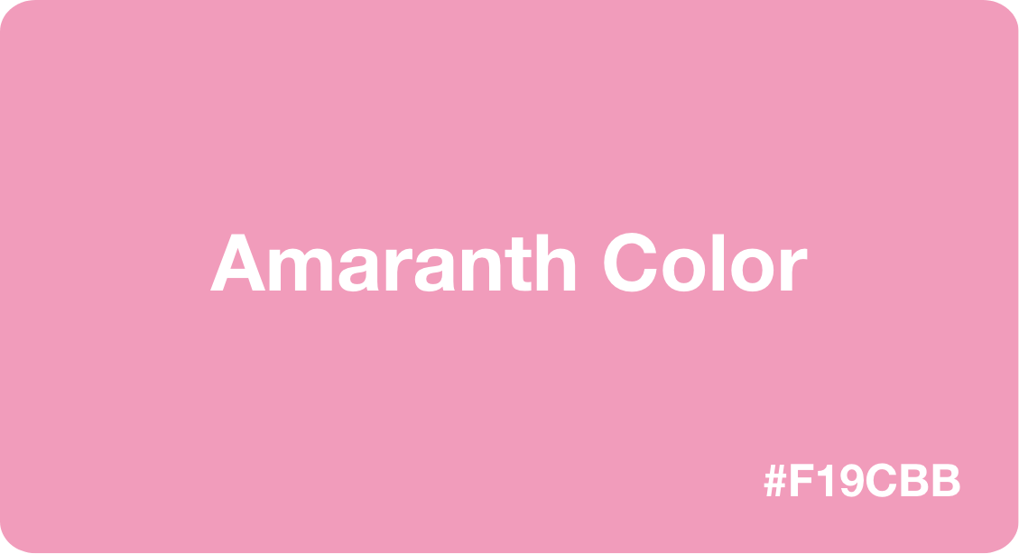 Amaranth Color