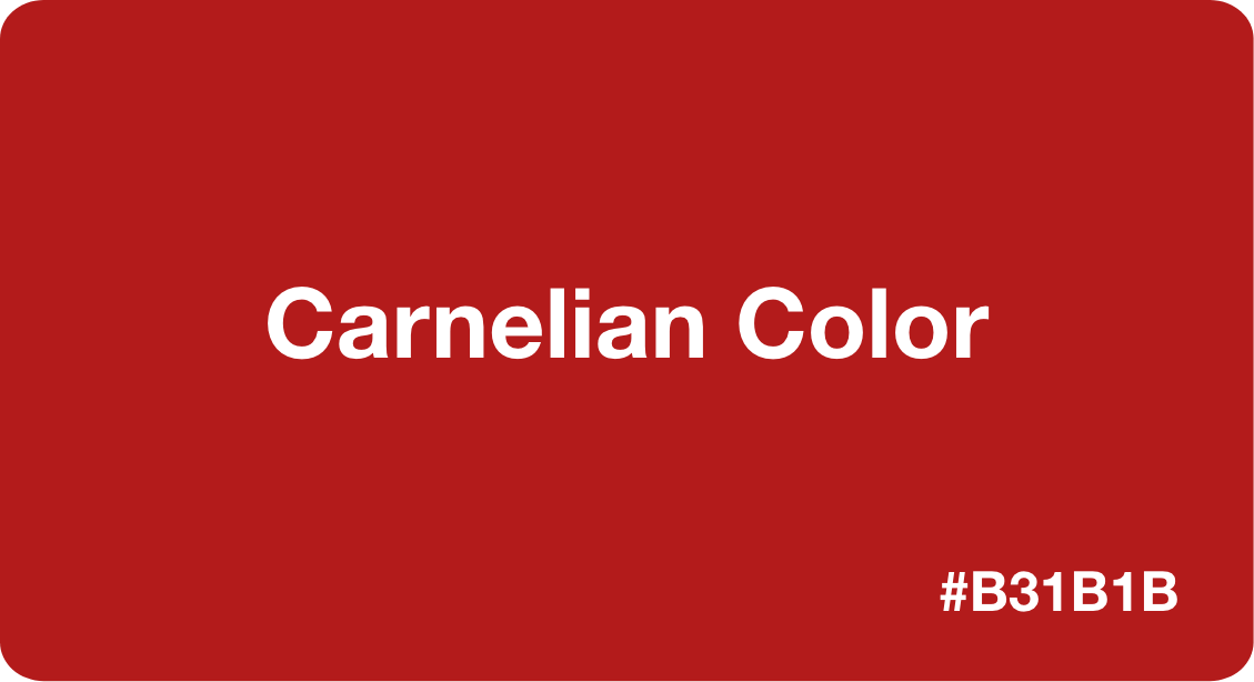 Carnelian Color