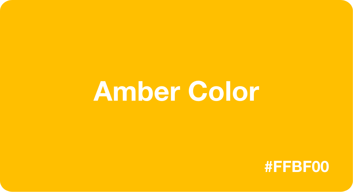 Amber Color