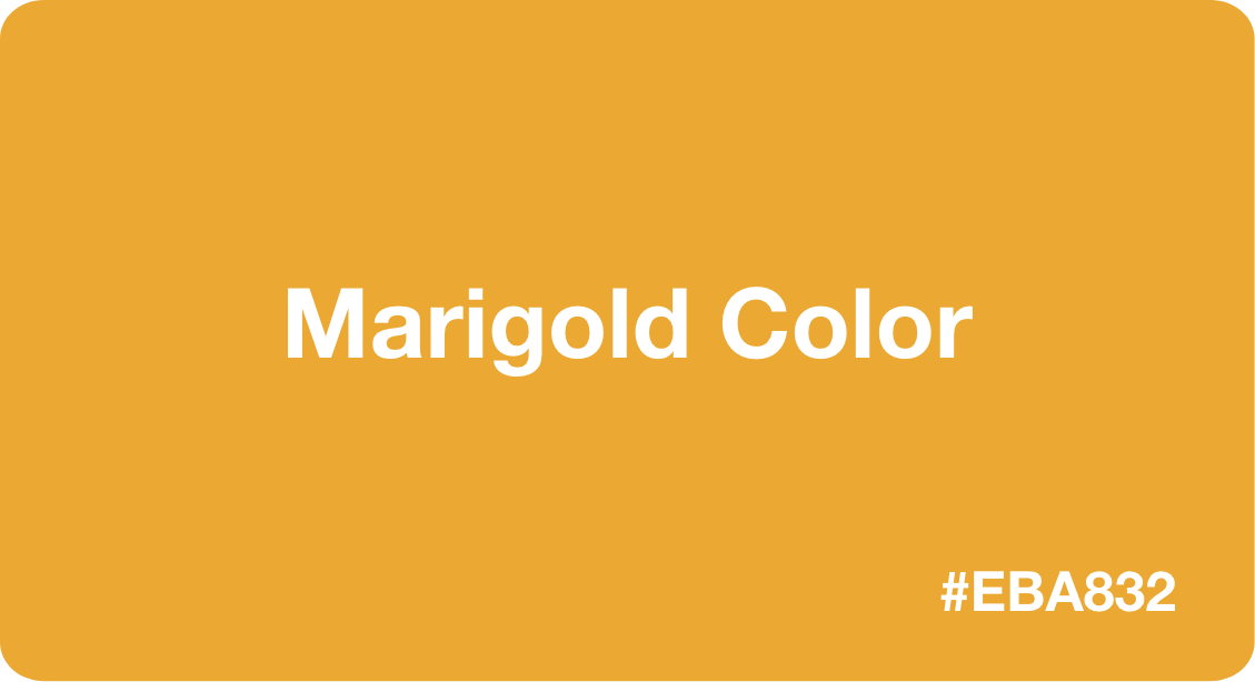 Marigold Color