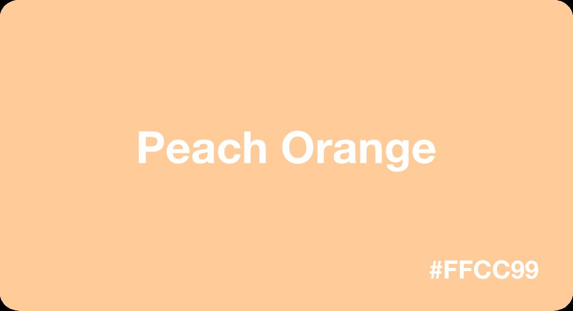 Peach Orange