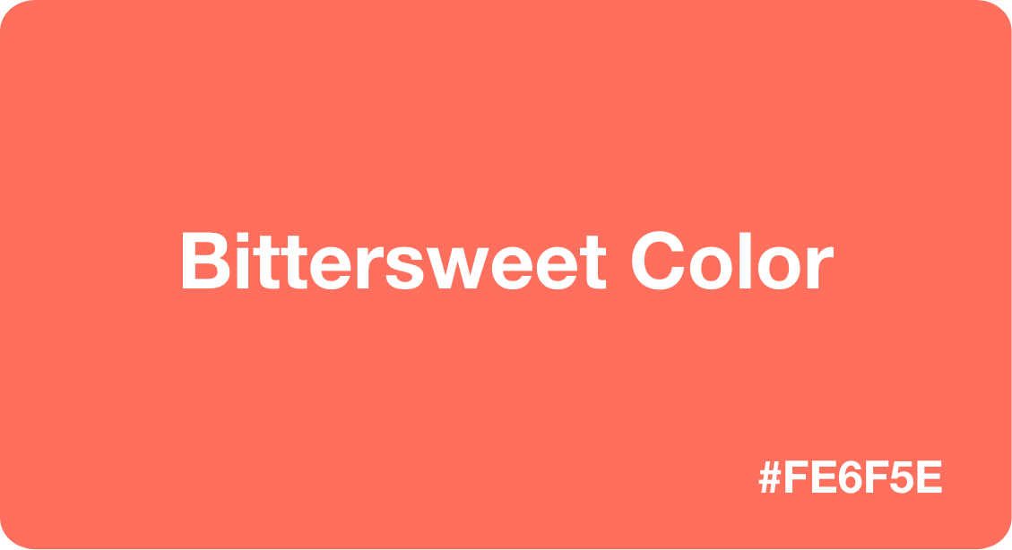 Bittersweet Color