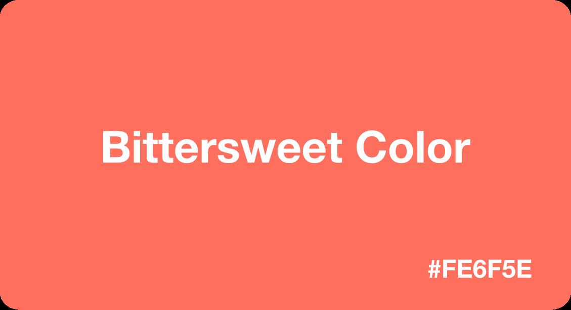 Bittersweet Color