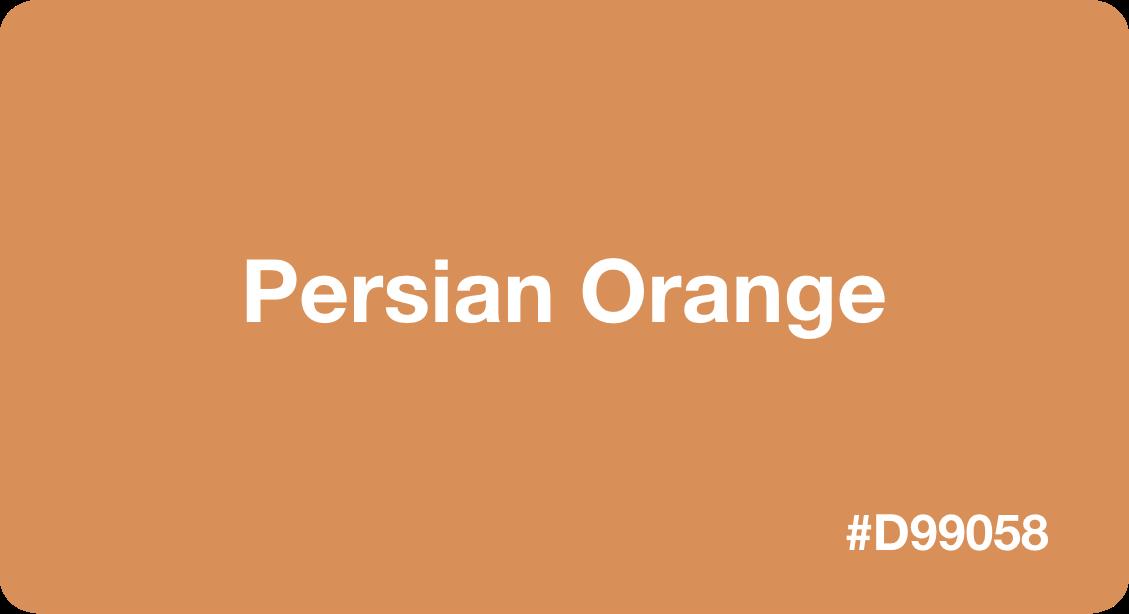 Persian Orange