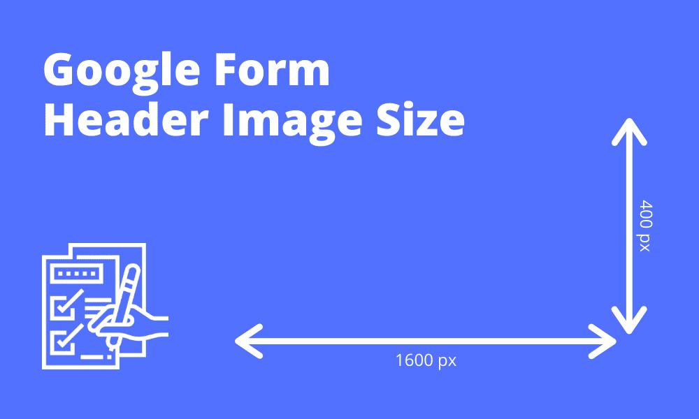google form header size Google Form Header Image Size
