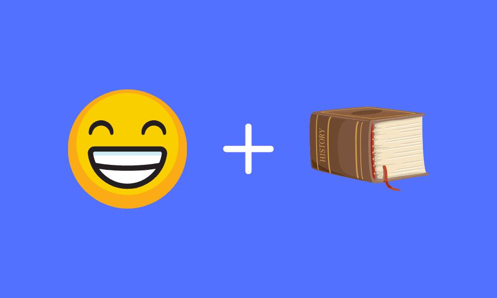 history of emoji photo