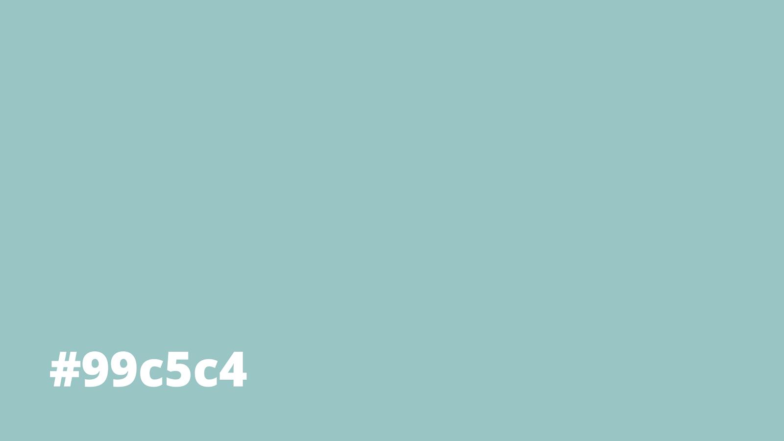 Pastel Turquoise