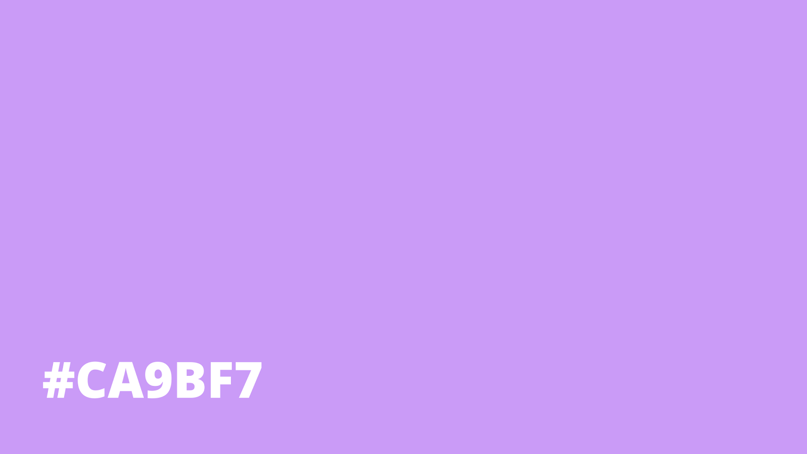 Baby Purple