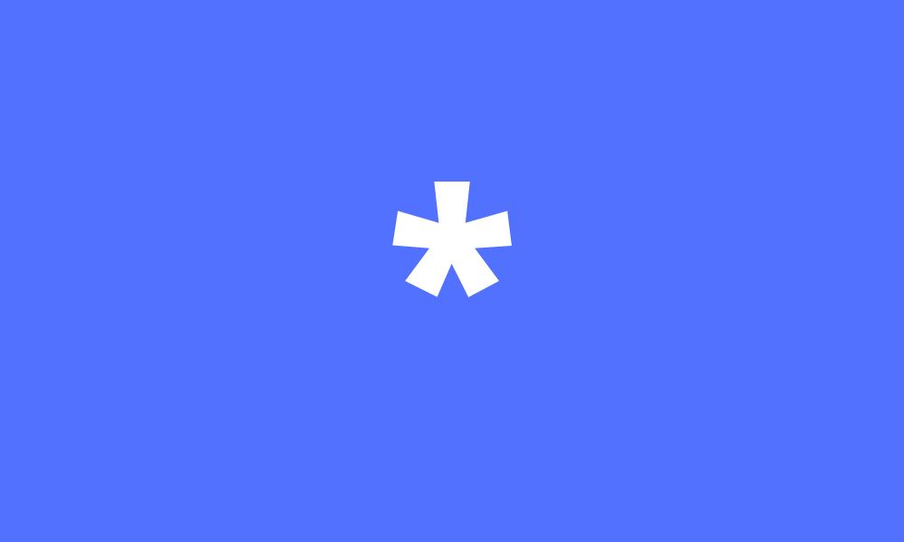 Asterisk Symbol