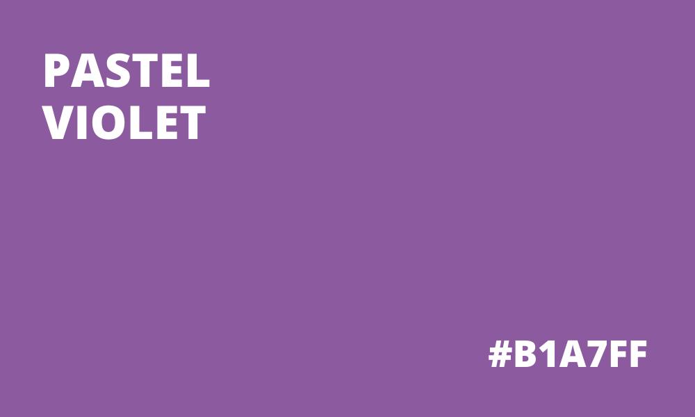 Pastel Violet HEX code