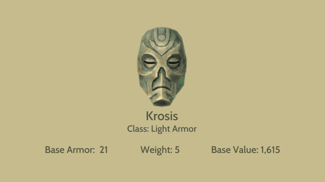 Krosis mask info card