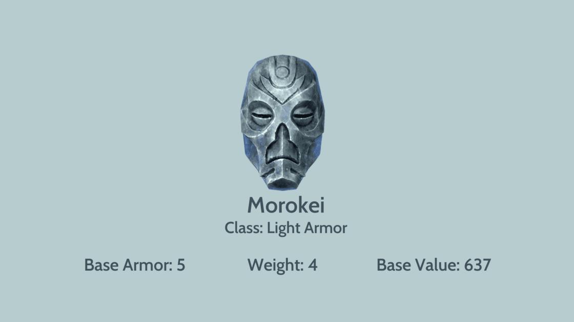 Morokei mask card info