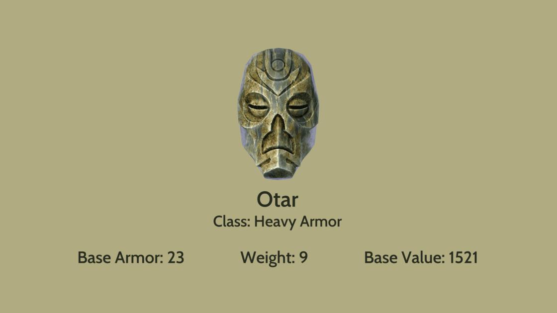 Otar mask info card