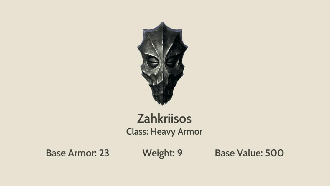 Zahkriisos mask info card
