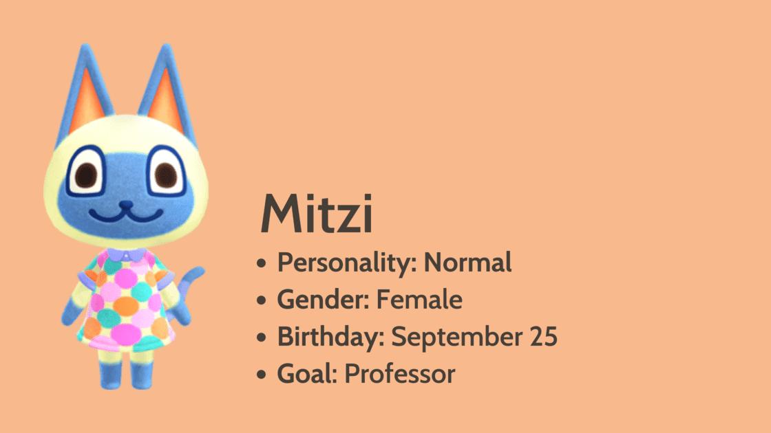 Mitzi info card