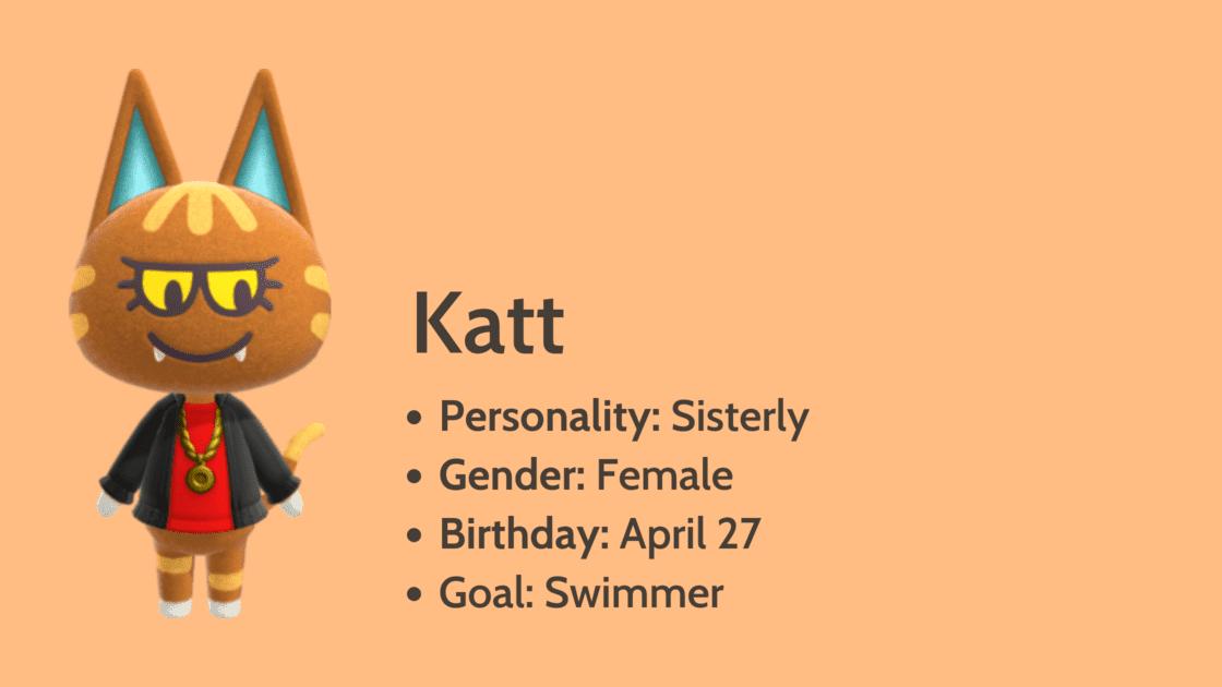 Katt info card