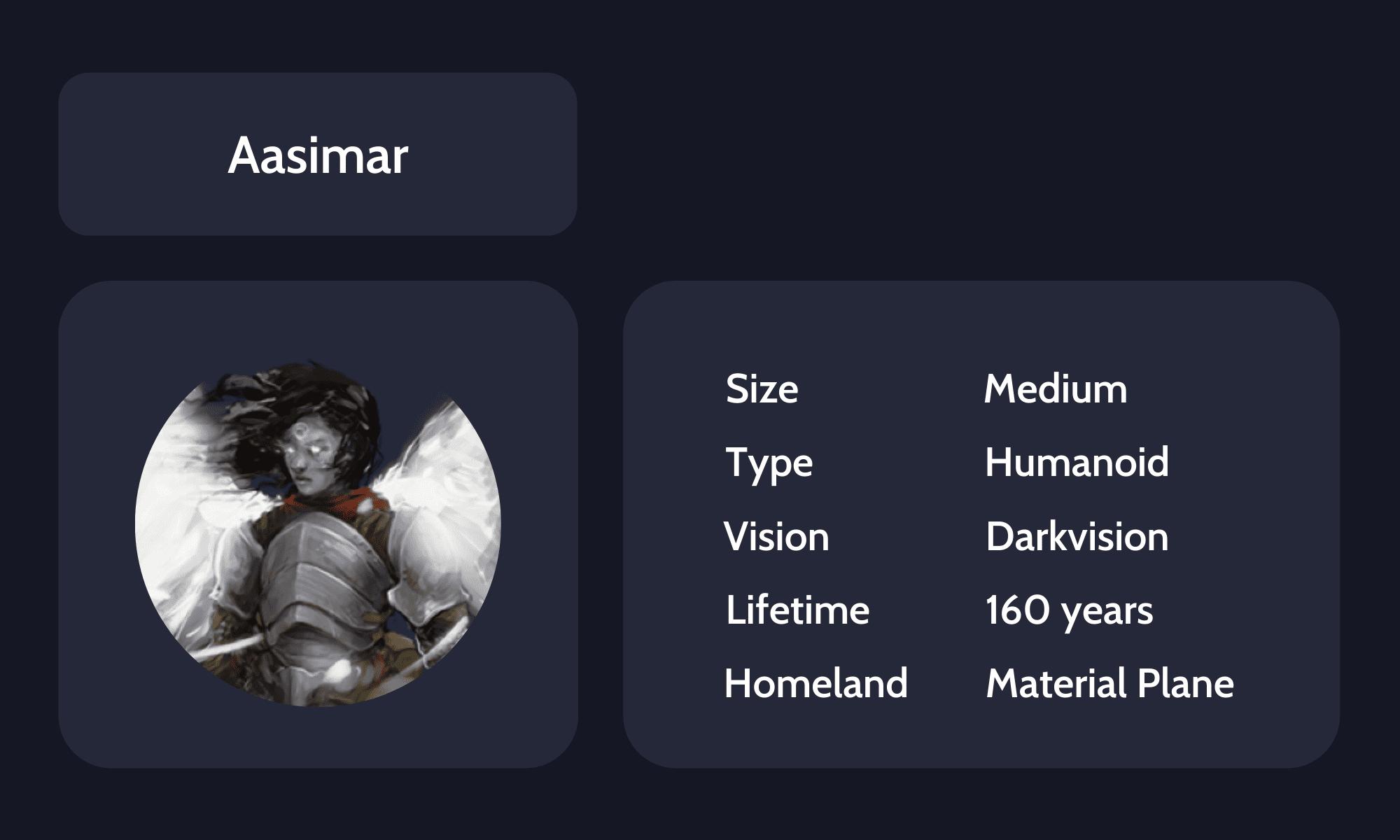 Aasimar guide