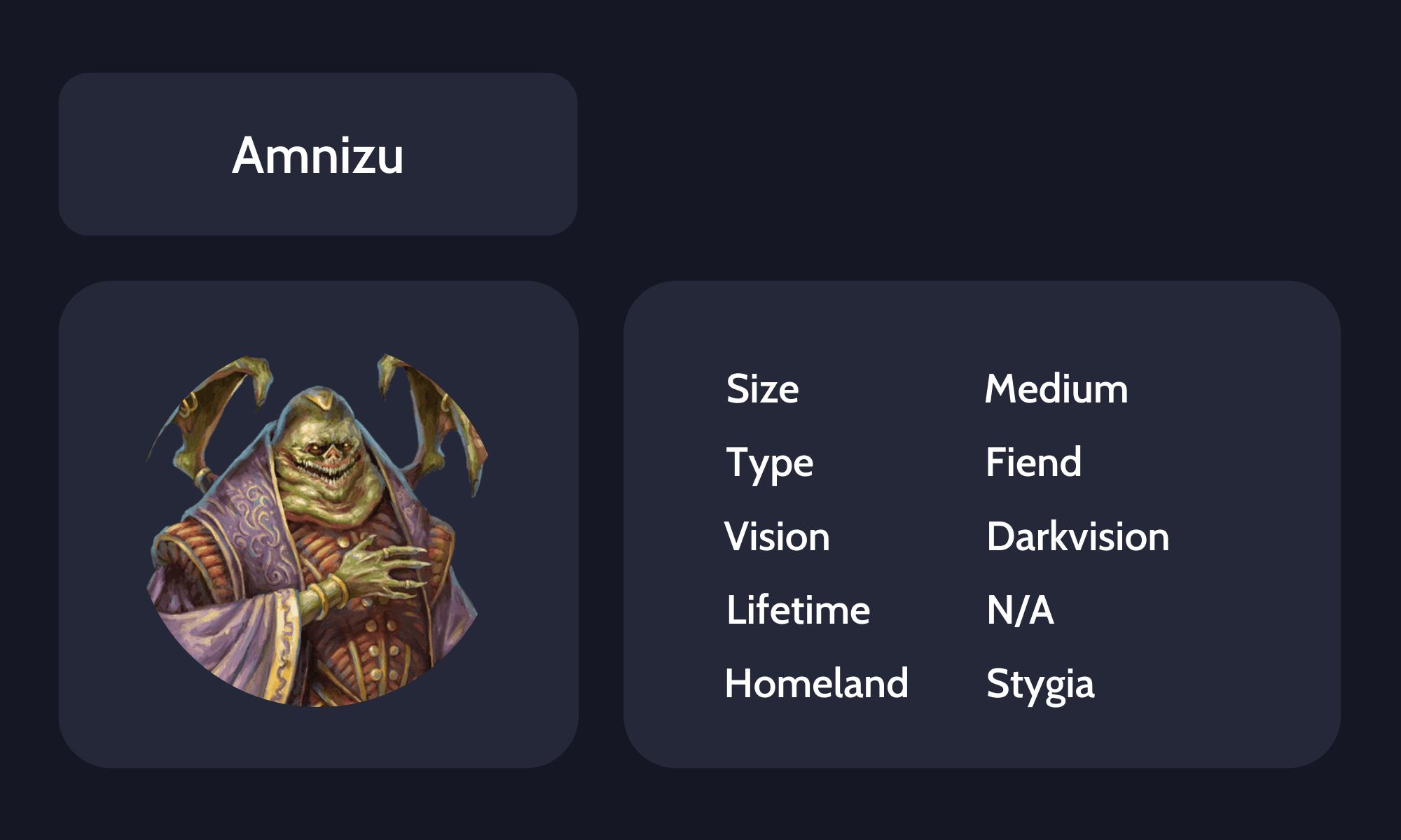 Amnizu guide