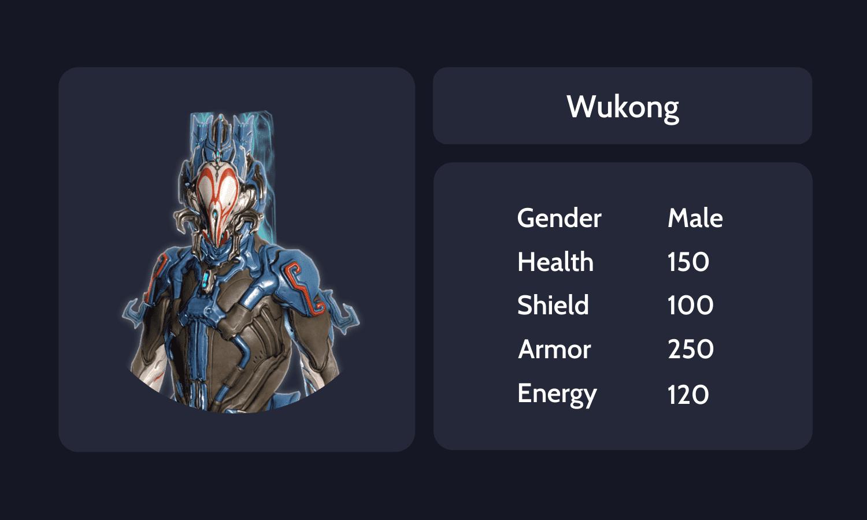 Wukong info card