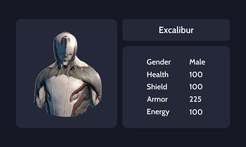 Excalibur Info Card