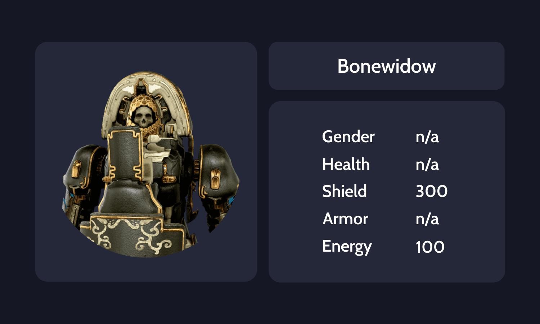 Bonewidow Info Card