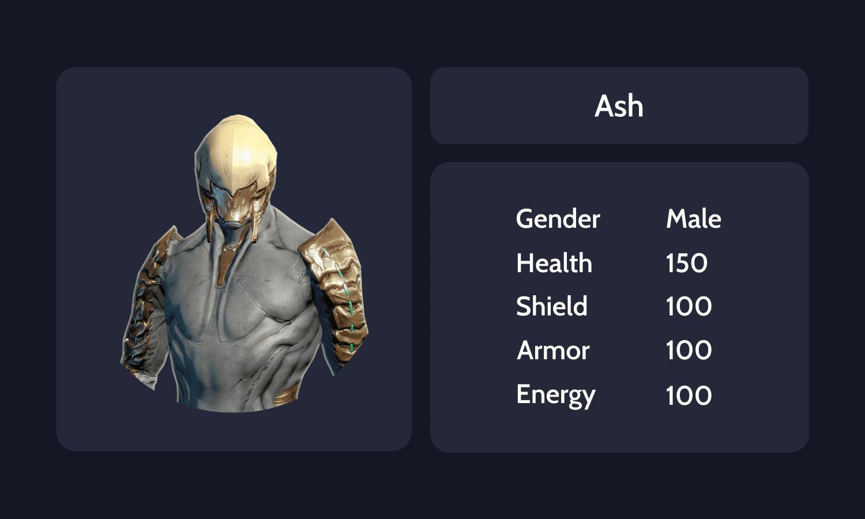 Ash Info Card