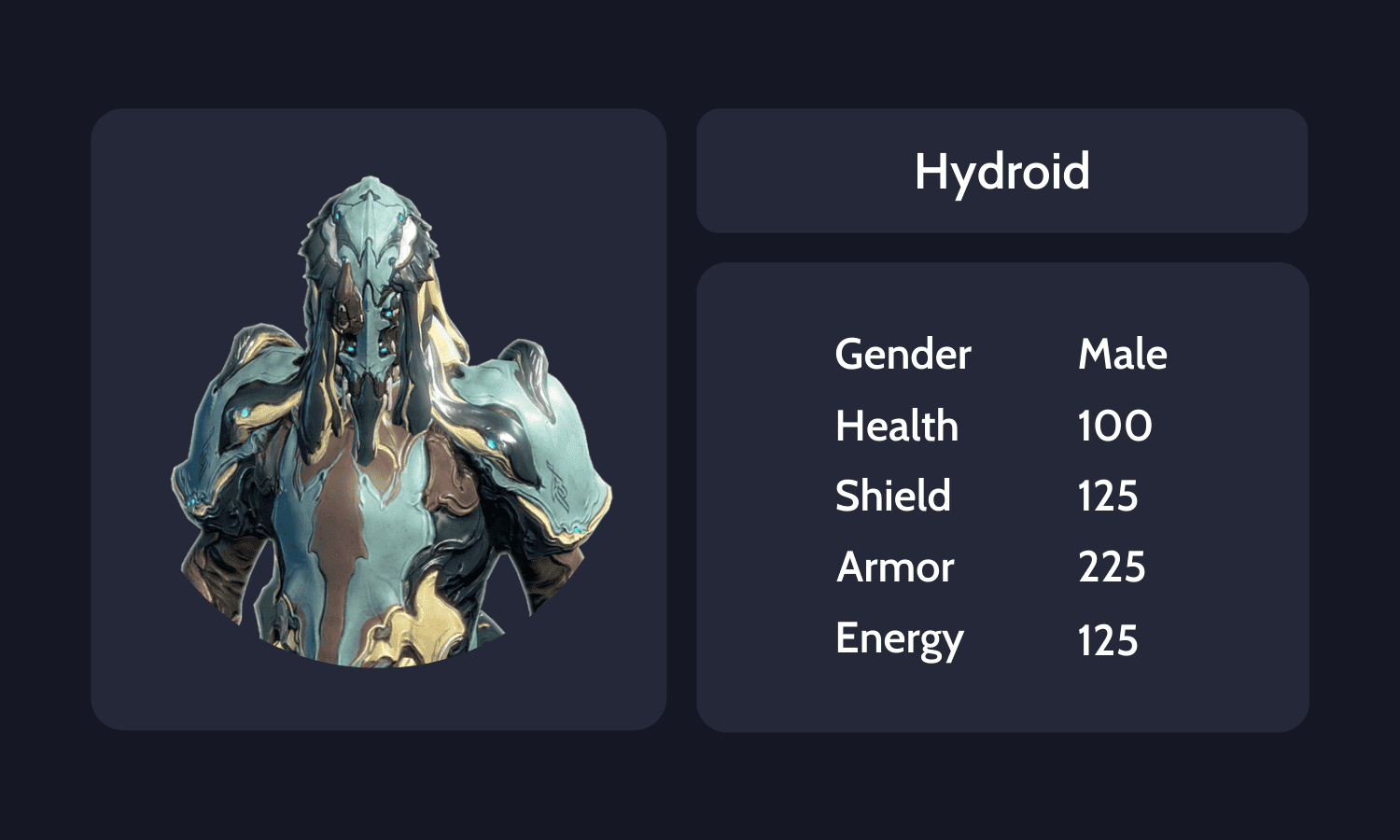 Hydroid Info Card