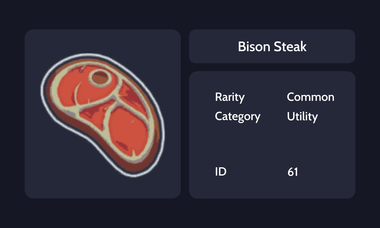 Bison Steak Info Ca