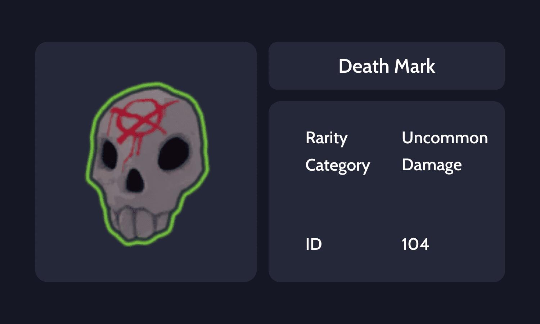 Death Mark Info Card