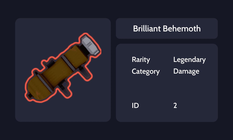 Brilliant Behemoth Info Card
